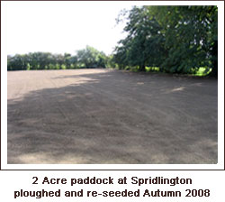 Click to view. Paddock Area Cultivated and Re-seeded